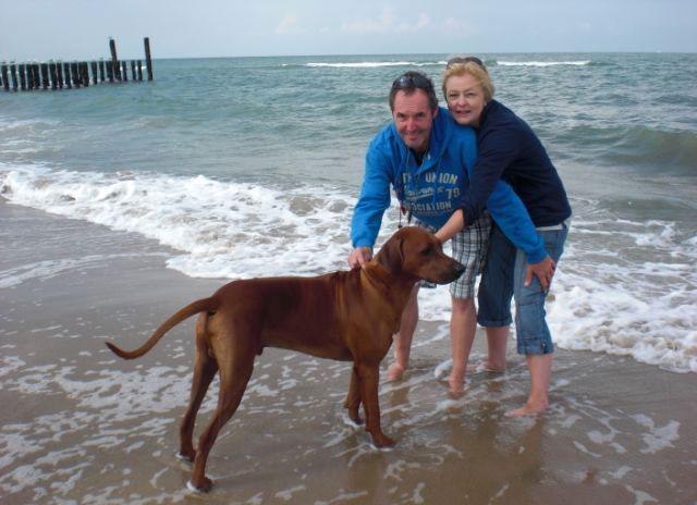 Cooper lernt die Nordsee kennen